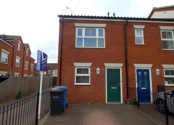 Thumbnail 3 bed end terrace house to rent in Churchill Road, Norwich