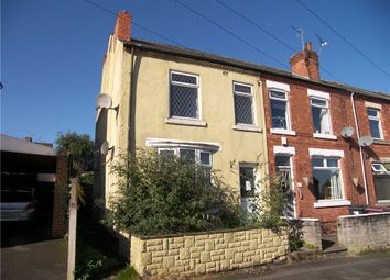Thumbnail 3 bedroom end terrace house for sale in Peel Street, South Normanton, Alfreton
