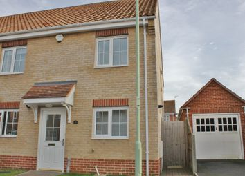Thumbnail 3 bedroom end terrace house to rent in Heritage Close, Kessingland, Lowestoft, Suffolk
