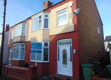 Thumbnail 3 bed semi-detached house to rent in College Drive, Bebington, Wirral