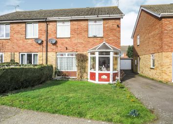 Thumbnail 3 bedroom detached house for sale in Simons Cross, Wickham Market, Woodbridge
