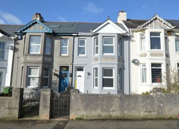Thumbnail 4 bed terraced house for sale in Cary Park Road, Torquay