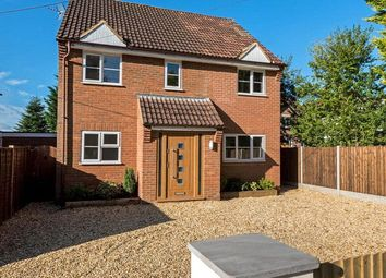 Thumbnail 4 bed detached house for sale in Church Road, Windlesham, Surrey