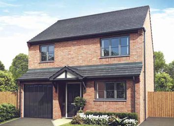 "Thumbnail 4 bed detached house for sale in ""The Snowdown"" at Darrall Road, Lawley Village, Telford"