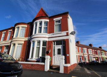 Thumbnail 3 bed end terrace house to rent in Hartismere Road, Wallasey