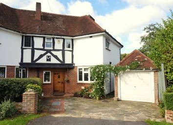 Thumbnail 4 bed semi-detached house for sale in Stagbury Close, Chipstead, Coulsdon