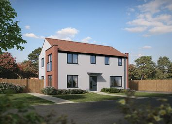 "Thumbnail 3 bed detached house for sale in ""The Clayton Corner "" at St. Catherine Road, Basingstoke"
