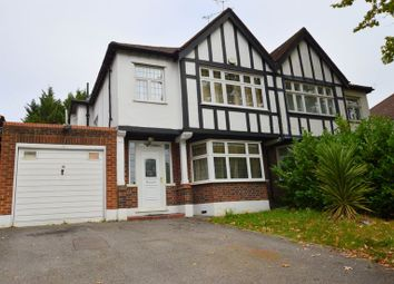 Thumbnail 3 bed semi-detached house for sale in Uxbridge Road, Hatch End, Pinner