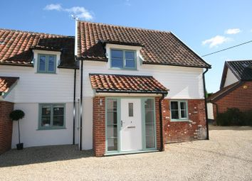 Thumbnail 3 bed semi-detached house for sale in The Turnpike, Carleton Rode, Norwich