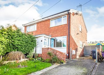 Thumbnail 2 bed semi-detached house for sale in Ash Grove, Chirk, Wrexham, Wrecsam