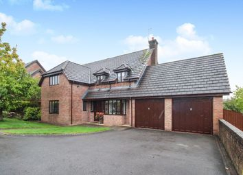 Thumbnail 4 bed detached house for sale in Badgers Meadow, Ponthir, Newport