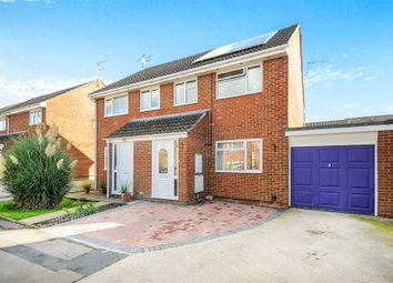 Thumbnail 3 bedroom semi-detached house for sale in Wakefield Close, Freshbrook, Swindon
