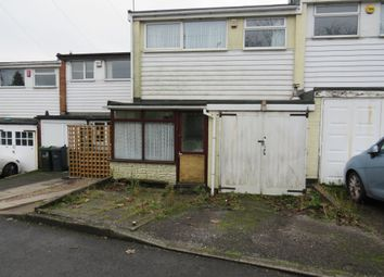 2 bed terraced house for sale in Hamstead Road, Great Barr, Birmingham B43