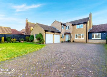Thumbnail 5 bed detached house for sale in Main Street, Old Weston, Huntingdon, Cambridgeshire