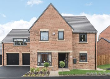 "Thumbnail 5 bedroom detached house for sale in ""The Hepscott"" at Loansdean, Morpeth"