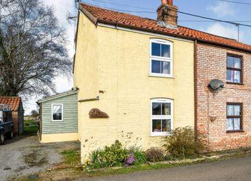 Thumbnail 2 bed semi-detached house for sale in West Dereham, Kings Lynn, Norfolk