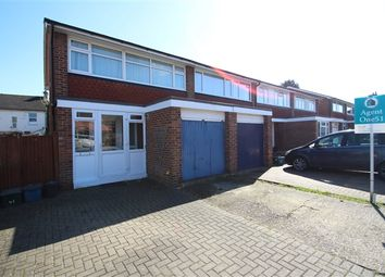 Thumbnail 3 bed end terrace house to rent in Cleaverholme Close, Woodside, Croydon