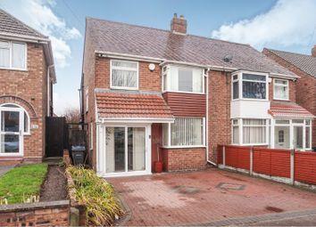 Thumbnail 3 bed semi-detached house for sale in Aldridge. Road, Birmingham