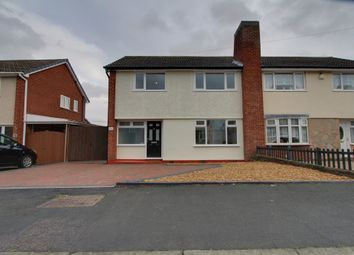 Thumbnail 3 bed semi-detached house for sale in St. Marys Way, Amington, Tamworth