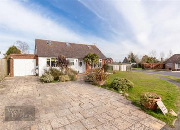 Thumbnail 3 bed detached bungalow for sale in Manor Close, Icklesham, Winchelsea