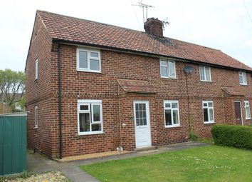 Thumbnail 2 bed semi-detached house for sale in Lyndon Avenue, Bramham, Wetherby