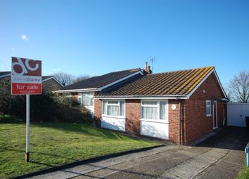 Thumbnail 2 bed semi-detached bungalow for sale in Shearwater Avenue, Seasalter, Whitstable