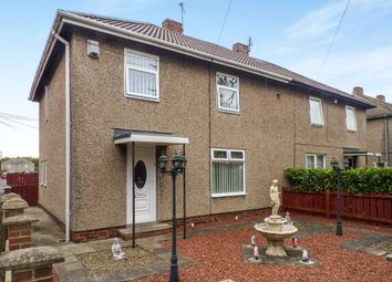Thumbnail 3 bed semi-detached house for sale in North View, Hazlerigg, Newcastle Upon Tyne