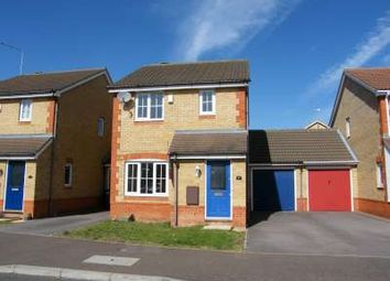 Thumbnail 3 bedroom link-detached house to rent in Ferndale, Yaxley, Peterborough
