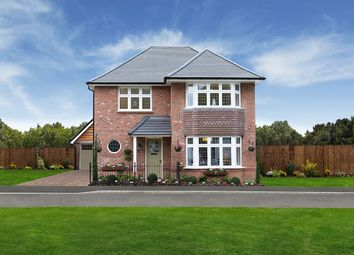 "Thumbnail 3 bed detached house for sale in ""Leamington Lifestyle"" at Robin Way, Kingsteignton, Newton Abbot"