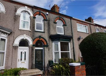 Thumbnail 4 bed terraced house for sale in Welholme Road, Grimsby