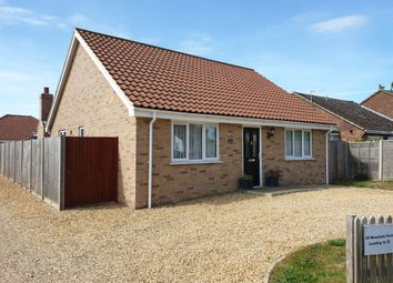 Thumbnail 3 bed detached bungalow for sale in Woodside Park, Attleborough