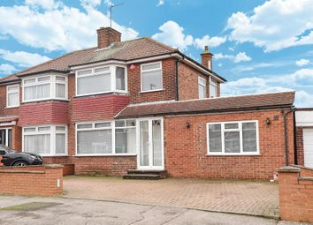 Thumbnail 4 bedroom semi-detached house to rent in Derwent Crescent, Stanmore