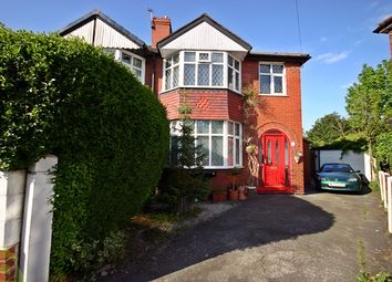 Thumbnail 3 bed semi-detached house for sale in Lowood Avenue, Urmston