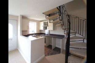 Thumbnail 1 bed maisonette to rent in Churchill Avenue, Brigg, Lincolnshire