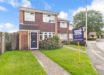 Thumbnail 3 bed end terrace house for sale in Clandon Road, Lords Wood, Chatham, Kent
