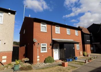 Thumbnail 3 bed semi-detached house for sale in Watkins Way, Shoeburyness, Essex