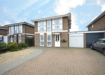 Thumbnail 4 bed link-detached house for sale in Wistaria Lane, Yateley