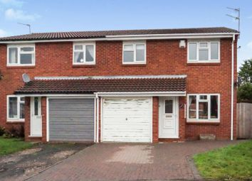 Thumbnail 3 bed semi-detached house for sale in Sanderling Close, Featherstone, Wolverhampton