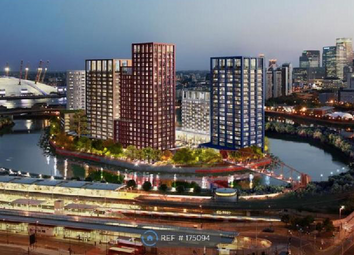 Thumbnail 2 bed flat for sale in Faraday Building, London City Island, Canary Wharf