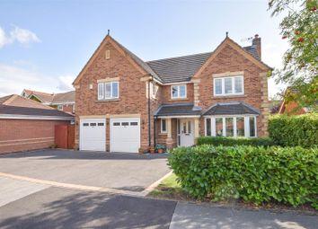 Thumbnail 5 bed detached house for sale in Longlands Drive, West Bridgford, Nottingham
