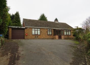 Thumbnail 3 bed detached bungalow for sale in Crich Common, Fritchley, Belper