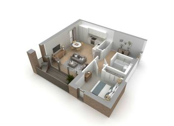 "Thumbnail 1 bed flat for sale in ""Type B"" at Jordanhill, Glasgow"