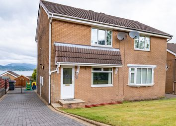 Thumbnail 2 bedroom semi-detached house for sale in Tantallon Avenue, Gourock