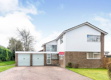Thumbnail 4 bed detached house for sale in Lupin Close, Basingstoke