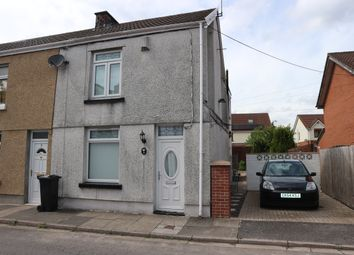 Thumbnail 3 bed end terrace house for sale in Castle Street, Pentrebach, Merthyr Tydfil