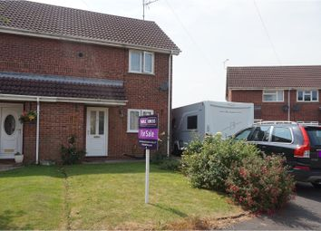 Thumbnail 2 bedroom semi-detached house for sale in Church View Close, Spalding
