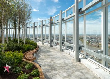 Thumbnail 1 bed property to rent in Sky Gardens, 155 Wandsworth Road, London