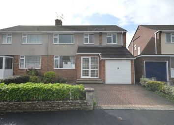 Thumbnail 4 bed semi-detached house for sale in Windrush Road, Keynsham