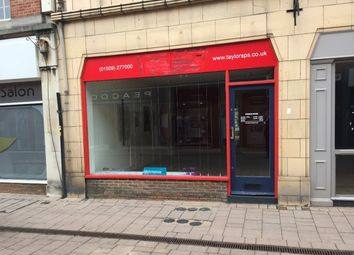 Thumbnail Retail premises to let in 55 Market Street, Market Street, Loughborough