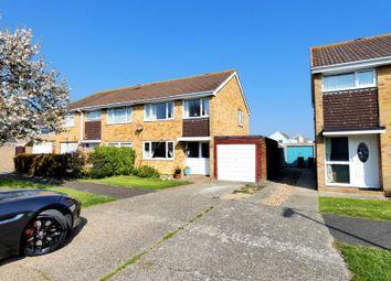 Thumbnail 3 bed semi-detached house for sale in Glenthorne Close, Stubbington, Fareham